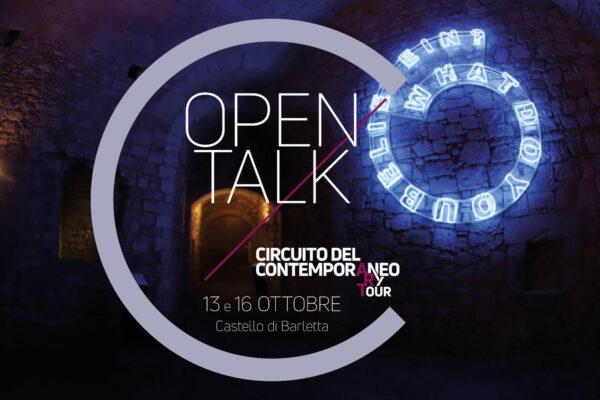 Le prospettive del Circuito del Contemporaneo in Puglia, mostre e talk al Castello di Barletta