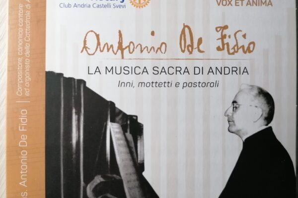 """Il Rotary e l'Ensemble """"Vox et Anima"""" fanno risplendere il genio musicale di Mons. De Fidio"""