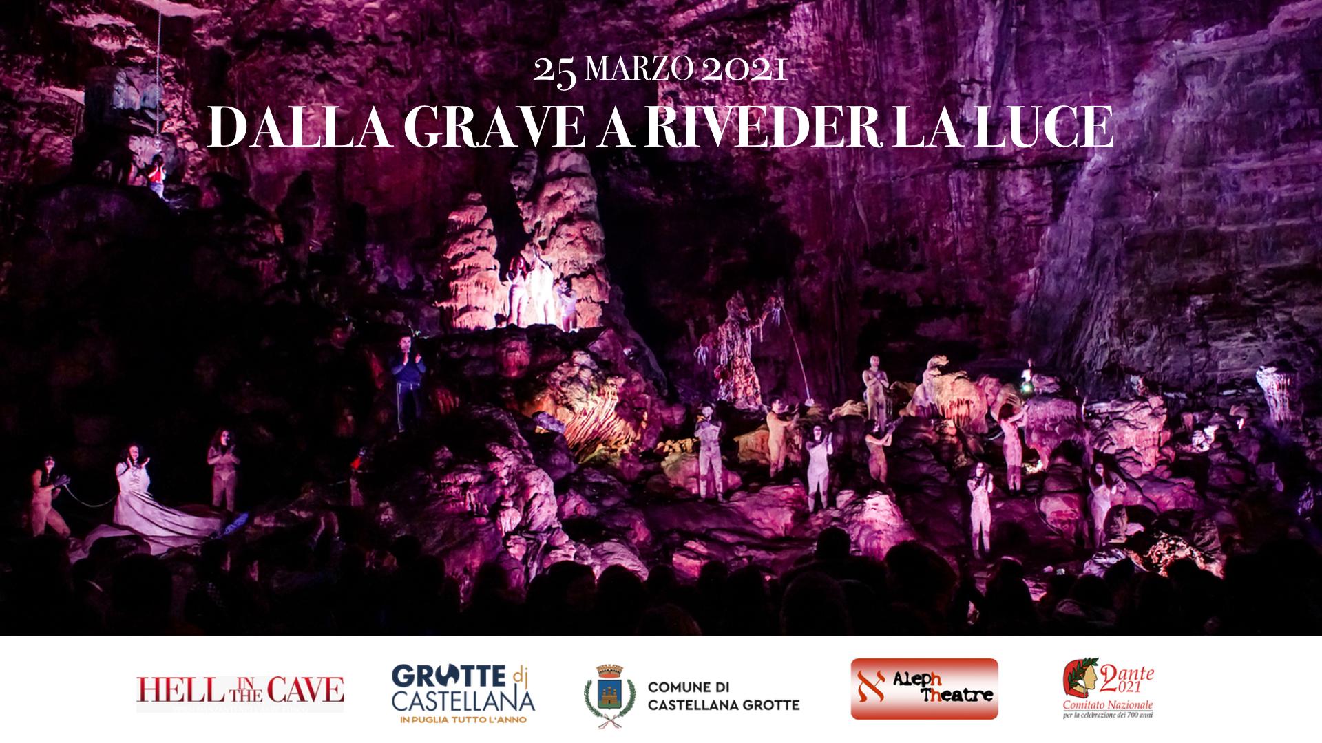 L'inferno di Dante nelle Grotte di Castellana