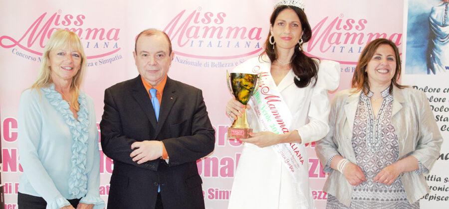 Anna Maria Renna è Miss Mamma Pollice Verde 2021