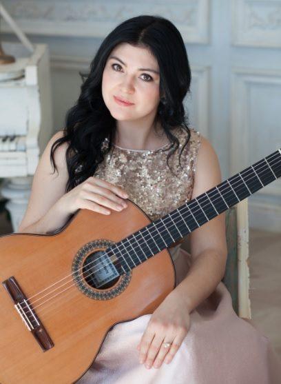 Irina Kulikova la Festival internazionale della chitarra di Mottola